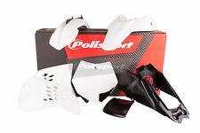 POLISPORT Motocross Mx Kit de plástico para KTM SX 65 2012-2015 Blanco 90214