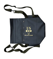 WWII WW2 US ARMY NORMANDY D-DAY M5 M7 GAS MASK MILITARY BAG PACK CARRIER