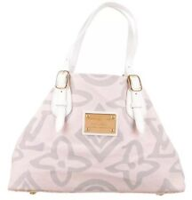 Louis Vuitton LV Monogram Pink Tahitienne GM Cabas Canvas RARE and Beautiful!