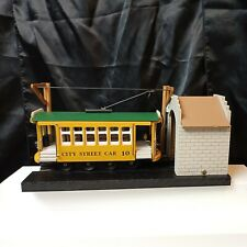City Street Trolley Cable Car Main St. #10 Special Safety Car Music & Motion Box