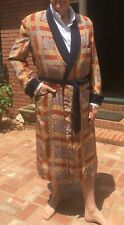 Wonderful Vintage Men's Dressing Gown/Lounging Robe from Saks Fifth Avenue