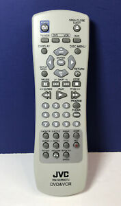 JVC RM-SHR007U DVD & VCR Remote (TESTED, Fresh Batteries Installed)