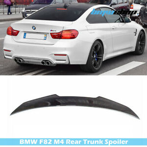 Carbon Fit For BMW 4-Series F82 M Coupe DTO Design Trunk Boot Spoiler 15-20