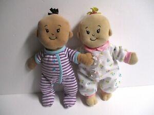 """Manhattan Toy 2 Wee Baby Doll Stella 12"""" Soft Nurturing Plush Brown Blonde Hair"""