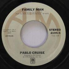 Rock 45 Pablo Cruise - Family Man / I Want You Tonight On Am