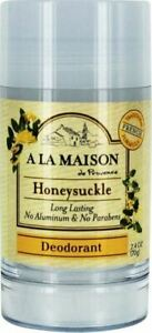 Deodorant by A La Maison, 2.4 oz Honeysuckle