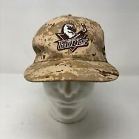San Diego Gulls Digital Brown Camo Snapback Hat Military AHL American League