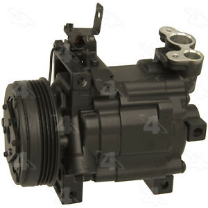 Remanufactured Compressor And Clutch Four Seasons 97485