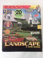 Punch Software Master Landscape & Home Design 2001