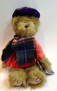 Ronnie Hek MacGregor Highland Bear Plush Scotland TD 12 4DT Tartan Scarf Hat