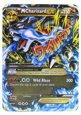 Pokémon Individual Card Mega EX Charizard 69/106 with Card Sleeve and Box Case
