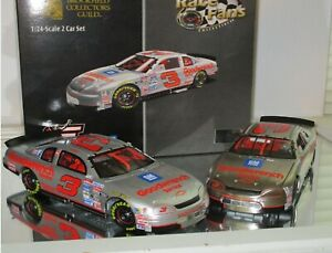 1995 DALE EARNHARDT #3 GM GOODWRENCH SLIVER SELECT RFO BROOKFIELD COLLECTORS SET