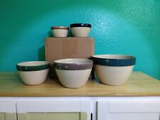 Indoor Outfitters Over and Back 5 piece set Nesting Bowls Portugal Excellent Con