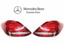 For Mercedes W205 C63 AMG S Set of Left & Right Tail Light Assemblies Genuine