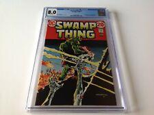 SWAMP THING 3 CGC 8.0 WHITE PGS 1ST FULL PATCHWORK MAN ABIGAIL ARCANE DC COMICS