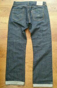 Levi's denim 501 jeans blue casuals ultras skins mods ska hip rocker biker 34w