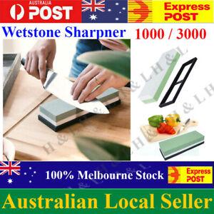 1000/3000  Dual Whetstone Waterstone Knife Sharpening Water Wet Stone Sharpener
