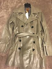 Leather jacket coat UGG woman's size L. $895 retail!  New!