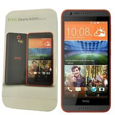 BNIB HTC Desire 620G Dual Sim 8GB Grey/Orange Trim Factory Unlocked 3G Simfree