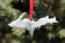 Hastings Pewter Lead Free Pewter Michigan Upper Peninsula Ornament U.P. gift NEW