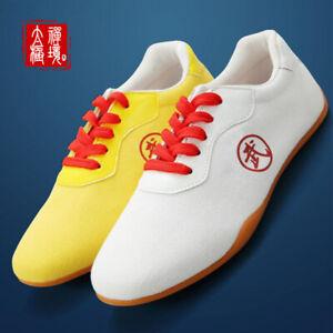 Martial Arts Trainers Shoes Sneakers Sport Canvas Footwear Taiji Taekwondo Shoes