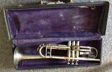 1930s Vintage Keefer Trumpet Model #2!!! Williamsport PA!!! Original Case!!!