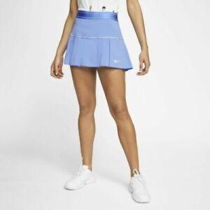 NEW Nike Court Victory Tennis Skirt Skort AT5724-478 Blue Women's, Large