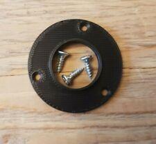 Bird Nest Box Protection Plate 25, 28, 32, 45mm Entry Holes Plate 3pk c/w screws