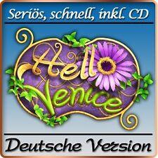 Hello Venice Deluxe - PC-Spiel - Deutsche Vollversion - 3-Gewinnt