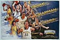 2006 Steve Novak Marquette Basketball 11x17 Poster NBA Rockets Knicks Bucks RARE