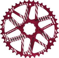 E*THIRTEEN Extended Range Cog -- 42T -- SHIMANO 36T COMPATIBLE -- RED -- NEW!