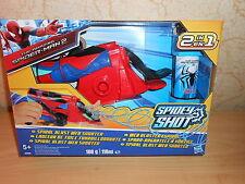 SPIDERMAN 2 - lanceur de toile tourbillonnante + eau 2 en 1 - neuf