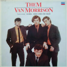 Them  Featuring Van Morrison - Them Featuring Van Morrison (LP, Comp, Mono)