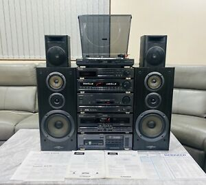 High End Pioneer 370z Series Stereo Stack System Hifi Separates+manuals