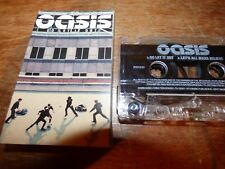 "YEAR 2000 CASSETTE SINGLE BY OASIS-GO LET IT OUT/ LET""S ALL MAKE BELIEVE- VG CON"