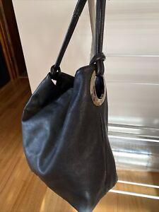 Oroton Kiera Hobo Bag - Black