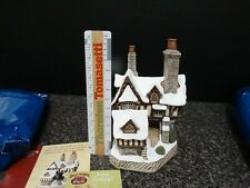 1997 David Winter Cottage Mr. Fang The Magistrate's House D1034 w/ Box and Coa