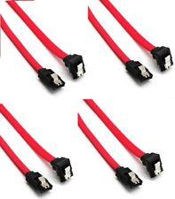 4 x SATA Kabel 30cm Anschlusskabel Serial s-ATA 6 Gb/s gewinkelt Winkel SSD HDD