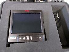 "Dalsa Optitek 6"" Super Bright Monitor with 2 Cables & Pelican Case"