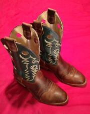 Mens Double H 12 EE Wide DH1571 Oak ICE Soft Round Toe Cowboy Boots