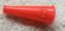 Vintage Tressy Doll Orange Plastic Megaphone-Very Good Condition!