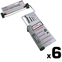 """6x Prodec Advance Titan 9"""" 225mm x 1.75"""" Screw Fit Cage Paint Roller Frame Trade"""