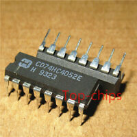 5PCS CD74HC4052E IC MUX/DEMUX DUAL 4X1 16DIP 74HC4052 HC4052 HC4052E CD74HC4052