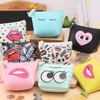 Portable Mini Coin Purse Key Case Zip Pouch Makeup Comstic Storage Bag