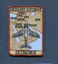 GRUMMAN A-6 INTRUDER DESERT STORM US Navy NAVY USMC VA VMA Attack Squadron Patch