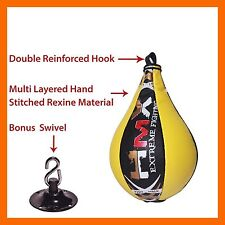 SPEED BALL AND SWIVEL PACK PUNCHING BAG MMA MARTIAL ARTS UFC FITNESS KICK BOXING