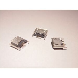 Micro USB Buchse Typ-B 5 Pin für Tablet, Handy, Navi (kd7)