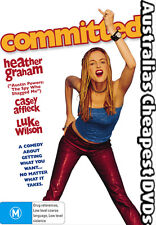 Committed DVD NEW, FREE POSTAGE WITHIN AUSTRALIA REGION 4