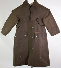 """""""Morrisons Australia"""" Western Duster Jacket Outback Oiled Canvas Women's Size 6"""
