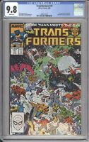 Marvel Comics TRANSFORMERS #41 CGC 9.8 NM (1988) White Pages